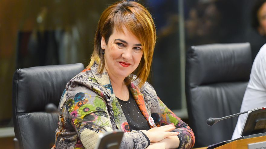 La nueva presidenta del Parlamento foral, Ainhoa Aznárez.