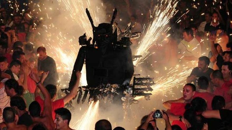 Imagen de archivo de la Danza del Diablo.
