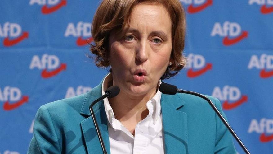 La Policia alemana denuncia a la vicepresidenta ultraderechista AfD por islamofobia