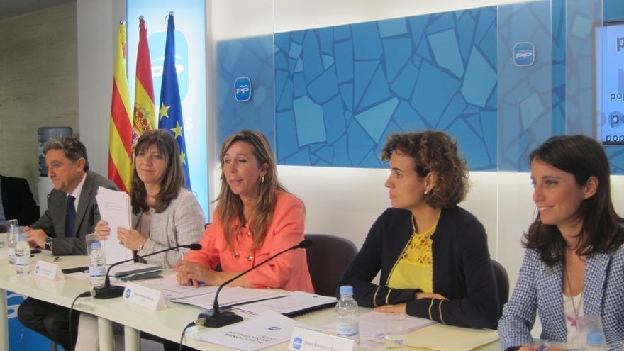 """Camacho llama al PP catalán a estar """"unido"""" ante un 27S que pone en juego la unidad de España"""