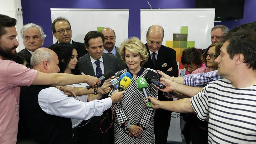 """Aguirre ve """"lamentable"""" que el PSOE apoye """"a los bolivarianos"""" cuando Felipe González lucha por la libertad en Venezuela"""