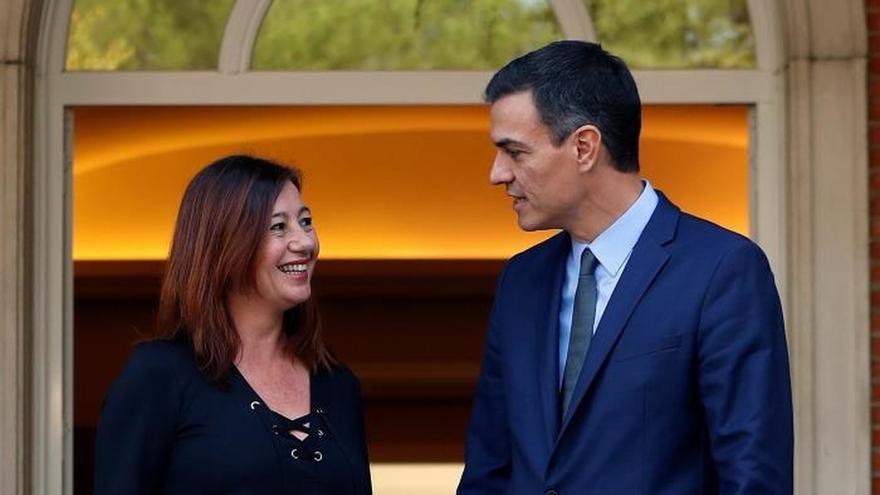 Armengol asegura que Sánchez le confirmó  que el REB entrará en vigor en 2019