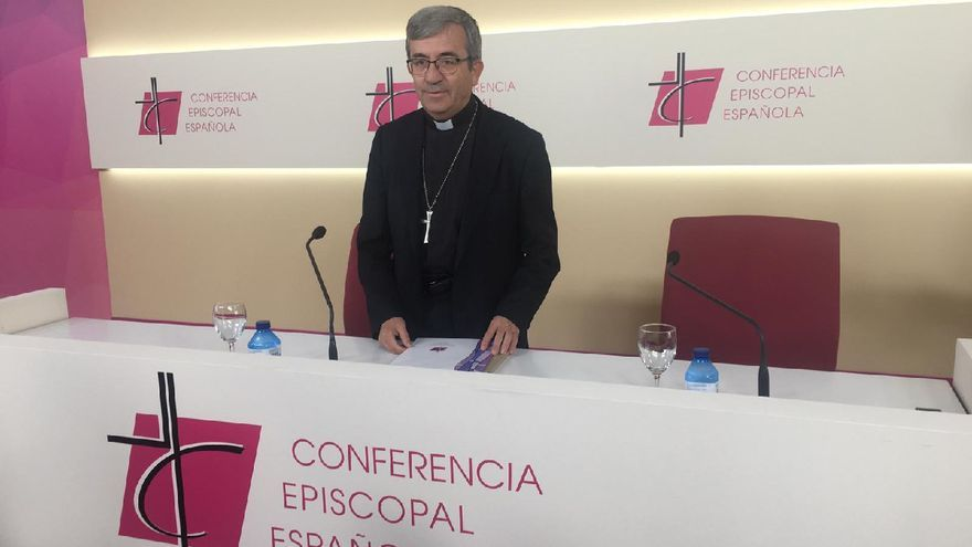 El portavoz de la Conferencia Episcopal, Luis Argüello