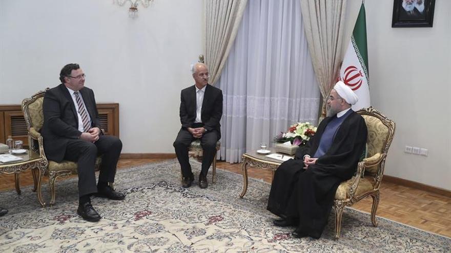 Rohaní insta a grandes energéticas para colaboración con Irán