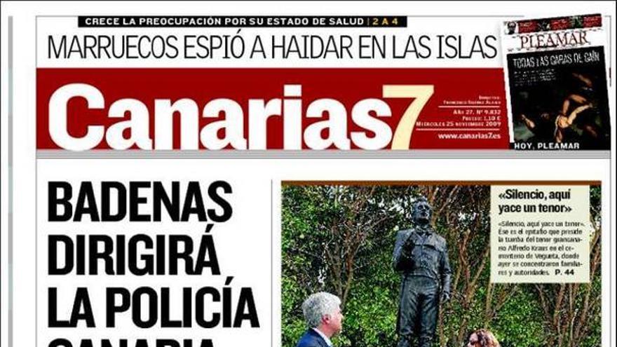 De las portadas del día (25/11/09) #1