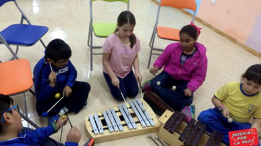 Taller infantil de Música por la Paz