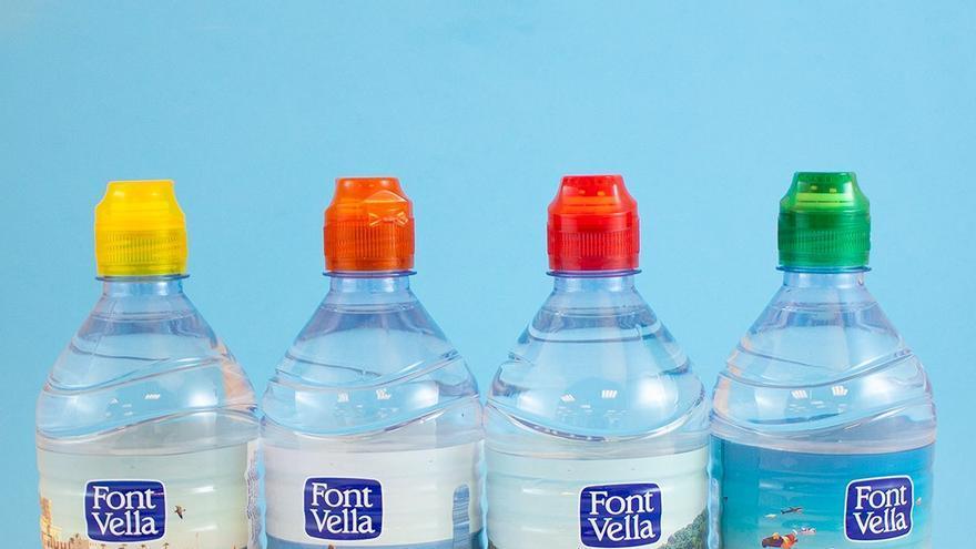 Botellas de Font Vella.