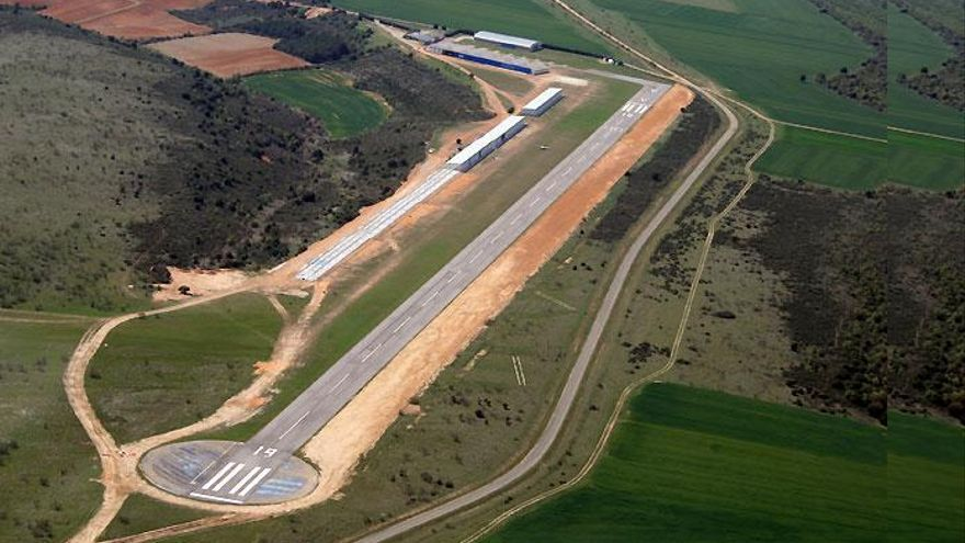 Aeródromo de Robledillo de Mohernando / Foto: VFR Flight