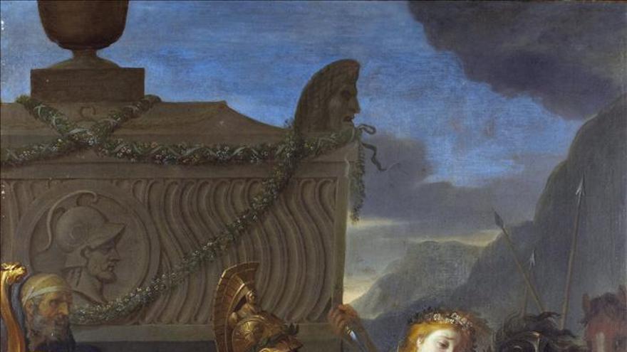 Redescubierta en el Ritz una obra de Charles Le Brun que será subastada en NY