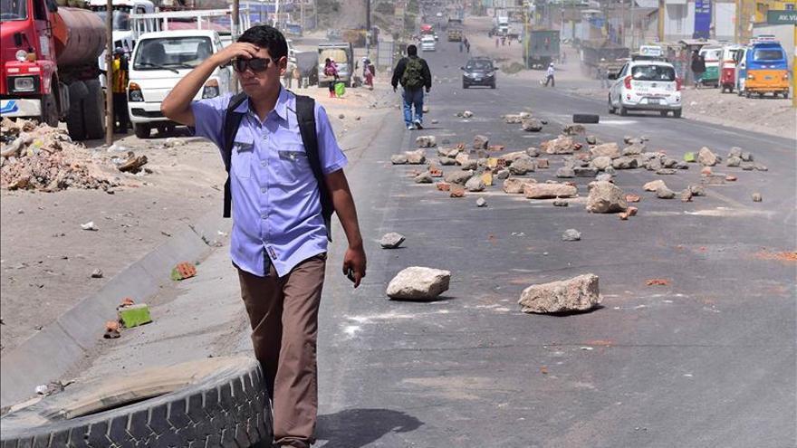 Perú reforzará la presencia policial en la protesta contra el proyecto minero mexicano