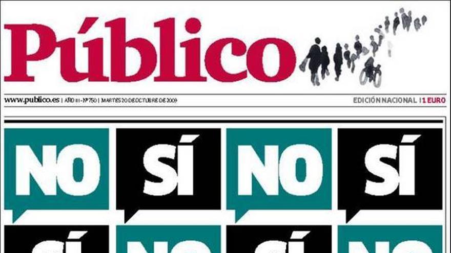 De las portadas del día (20/10/2009) #9