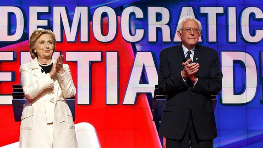 Clinton y Sanders pelean por Kentucky y Oregón, donde Trump ya no tiene rival