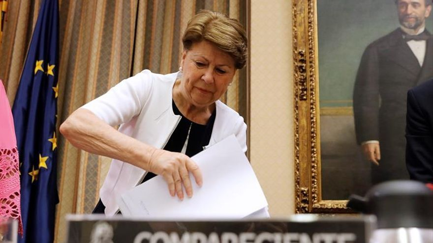 """La presidenta de las víctimas del accidente de Spanair, a Magdalena Álvarez: """"Nunca tendría que haber sido ministra"""""""