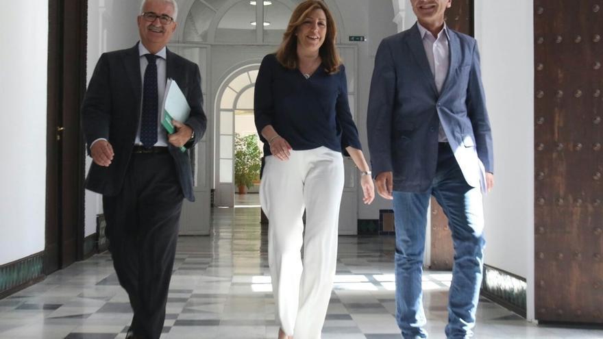 """Susana Díaz ve positivo que Cs sitúe en más de 65% el grado de cumplimiento del acuerdo: """"el PSOE es de fiar y cumple"""""""