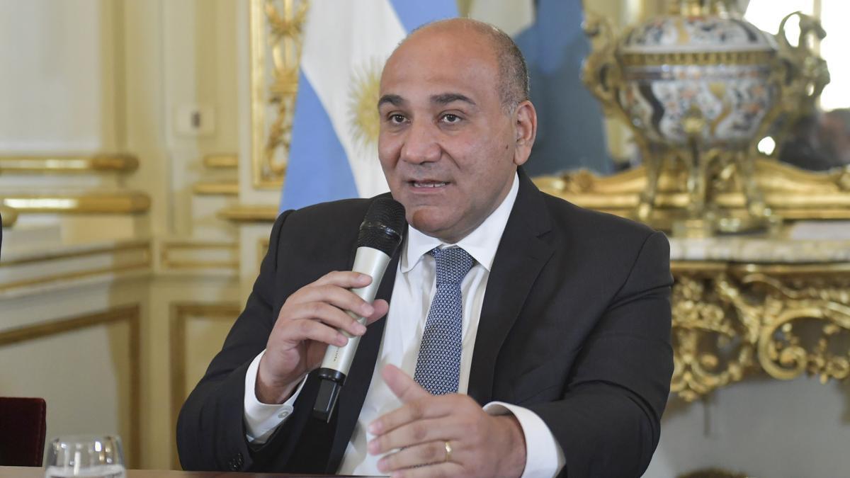 Juan Manzur habló sobre el mensaje de Aníbal Fernández a Nik.