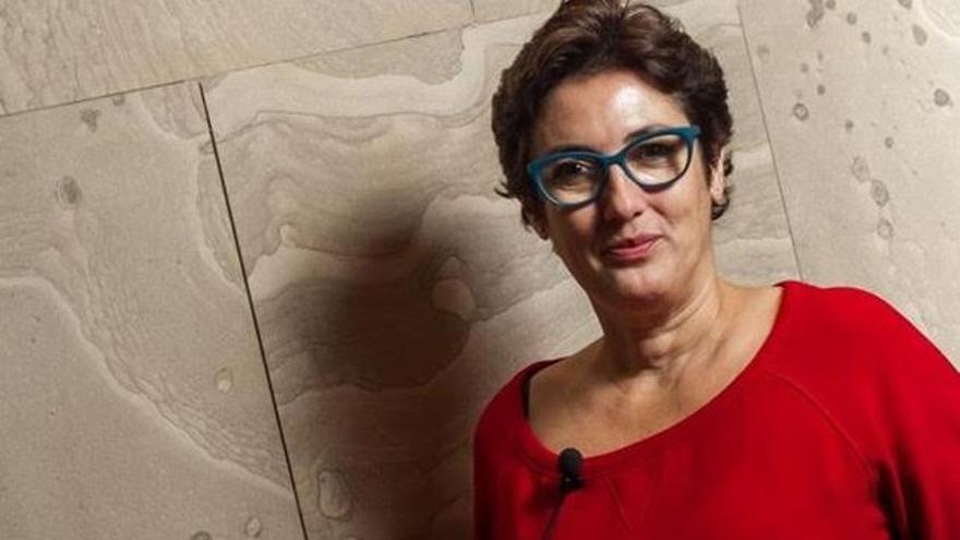 Montserrat Domínguez está muy vinculada a La Palma.