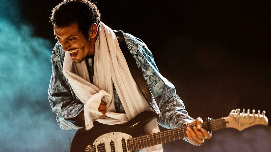 Bombino expresa con su música los principios del pueblo tuareg al que pertenece. Foto: Alice Durigatto