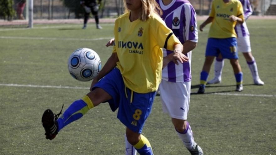 Del partido de la UD Las Palmas y Real Valladolid de la Liga femenina #5