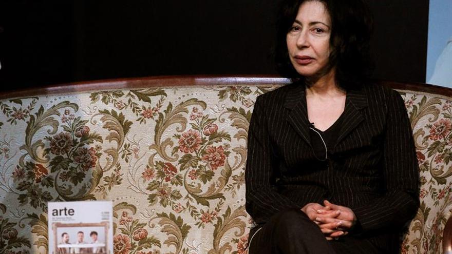 Yasmina Reza, participa en un encuentro con el público en el Teatro Pavón