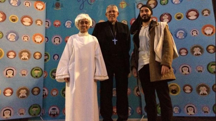 El arzobispo de Toledo en la celebración de 'Holywins'