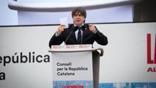Puigdemont pide al independentismo que se prepare para un nuevo pulso al Estado en un acto multitudinario en Perpiñán