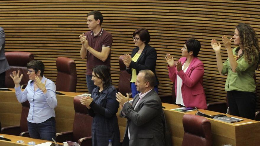 El grupo parlamentario de Unides Podem