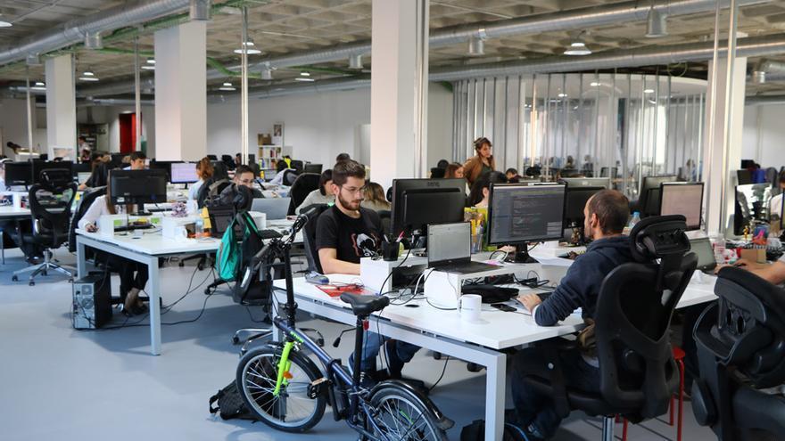 La oficina central de reclamador.es en Madrid.