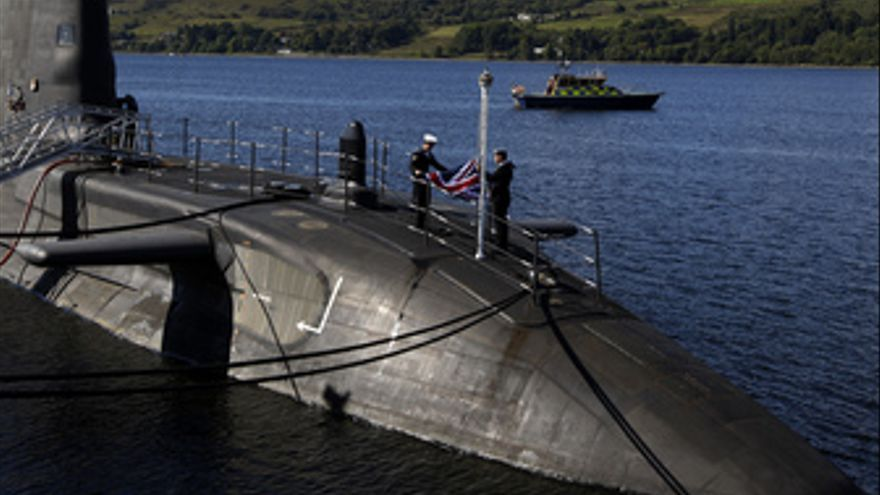 El submarino británico 'HMS Astute'