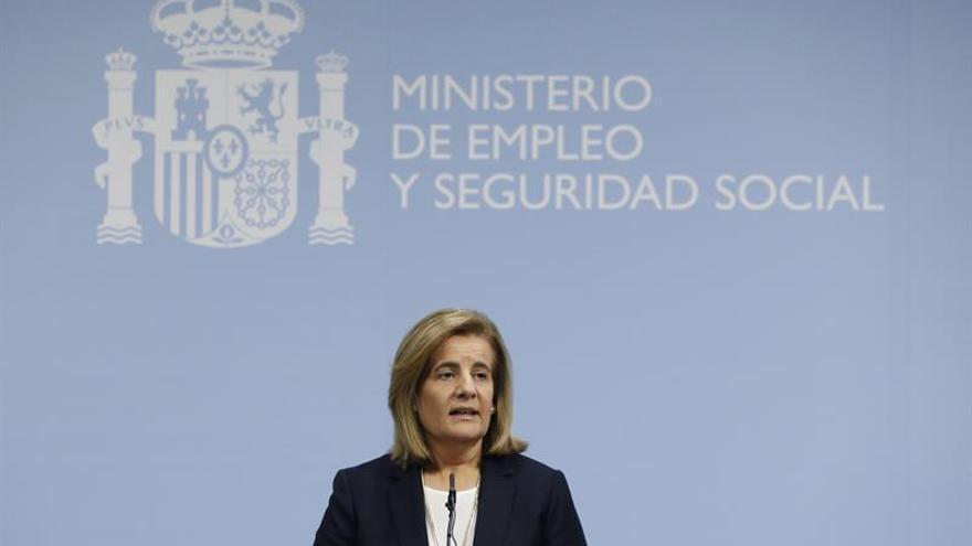 Fátima Báñez dice que el gasto en pensiones será del 11 por ciento del PIB en 2060