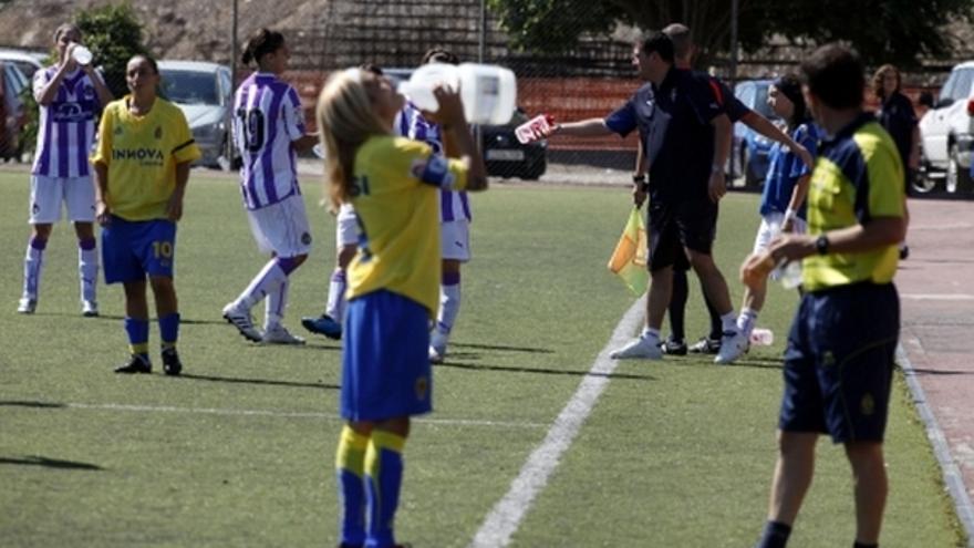 Del partido de la UD Las Palmas y Real Valladolid de la Liga femenina #7