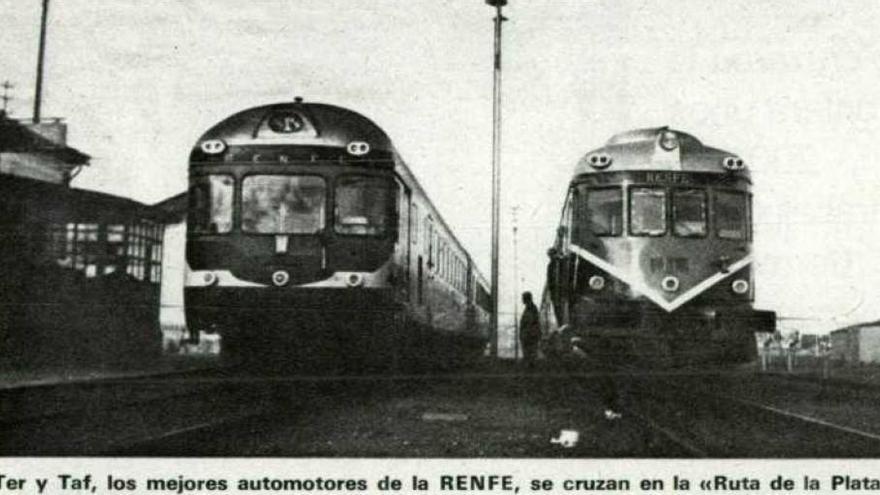 Trenes Ruta Plata Extremadura TER TAF