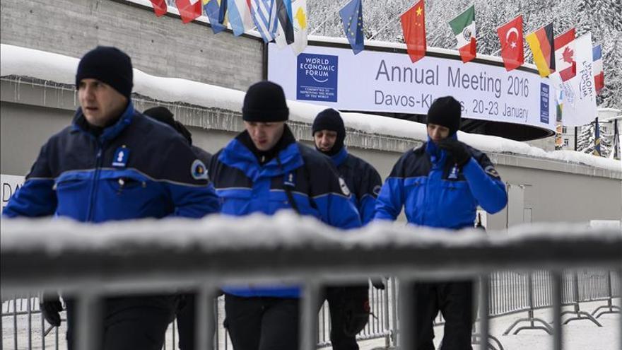 Davos recibe en alerta máxima a personalidades ante la amenaza terrorista