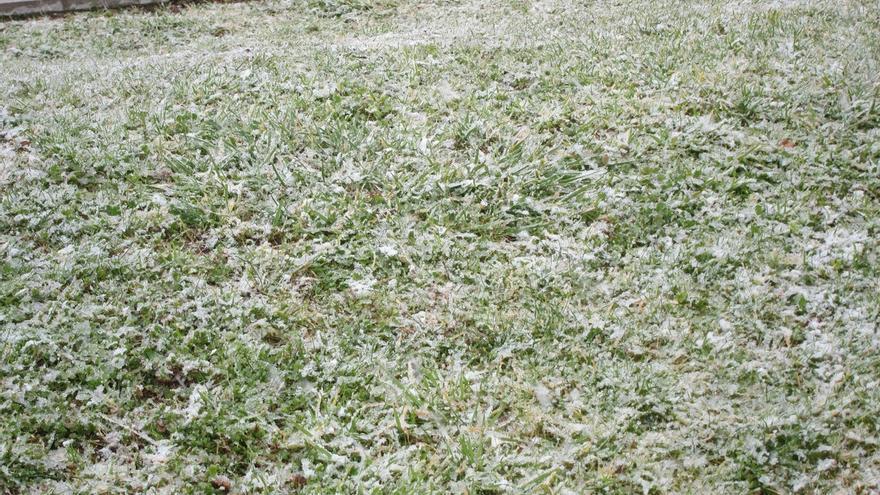 Álava mantiene para este domingo el aviso amarillo por temperaturas mínimas tras registrarse -3,7 grados en Pagoeta