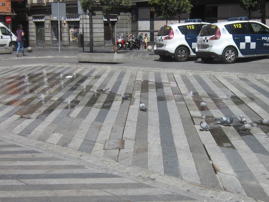 Plaza de  Soledad Torres Acosta (plaza Luna) | Foto: Somos Malasaña