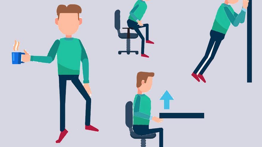 ejercicios oficina
