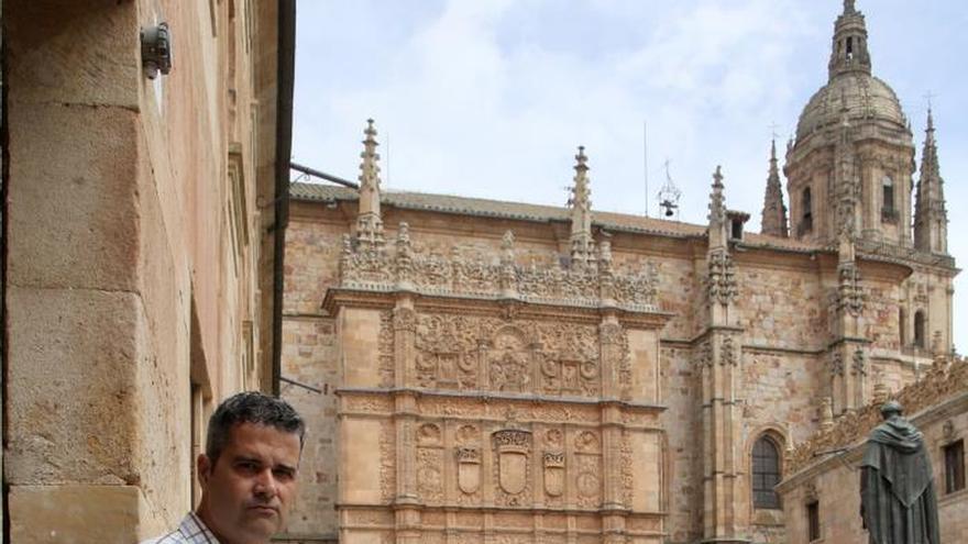 La universidad de Salamanca.