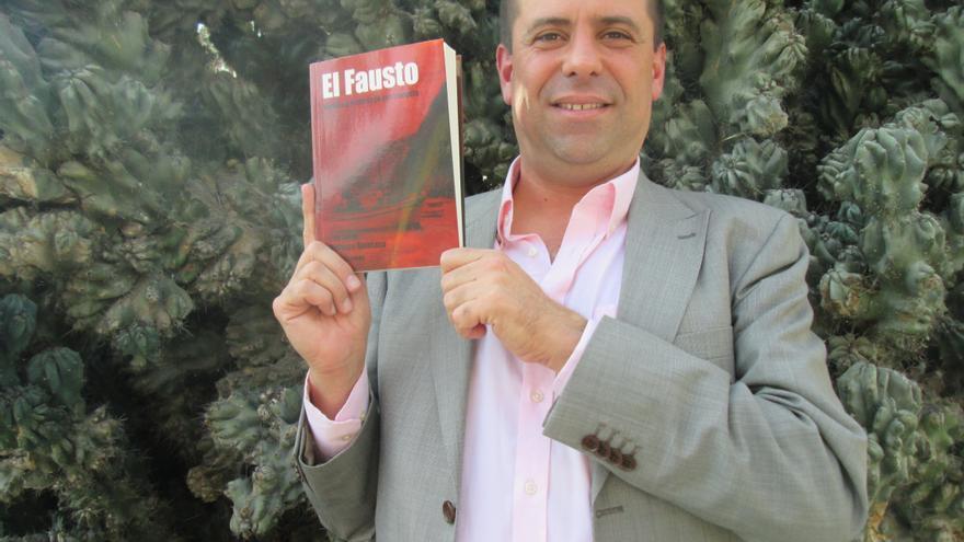 Luis Javier Velasco Quintana ha dedicado 14 años a la investigación de El Fausto. Foto: LA PALMA AHORA.