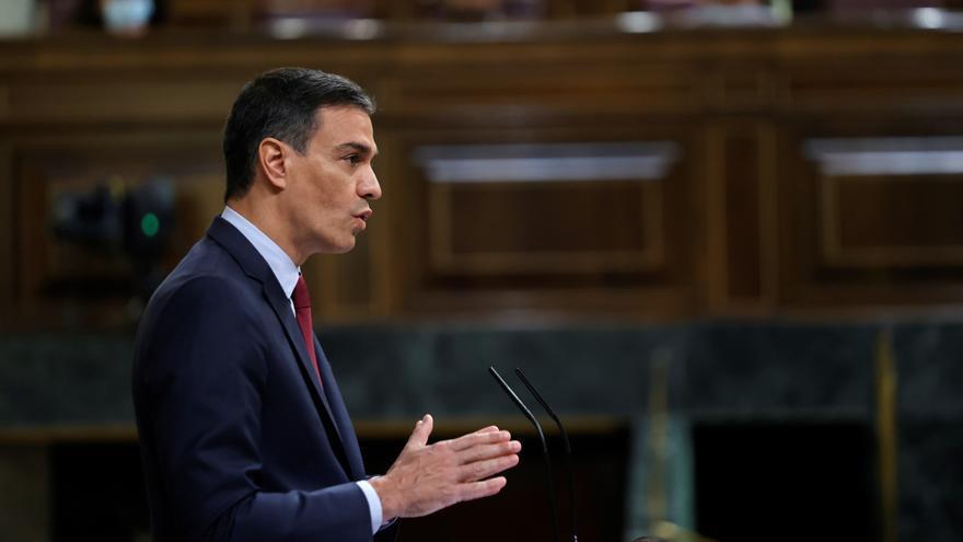 Sánchez comparece en el Pleno del Congreso para explicar los indultos a los independentistas