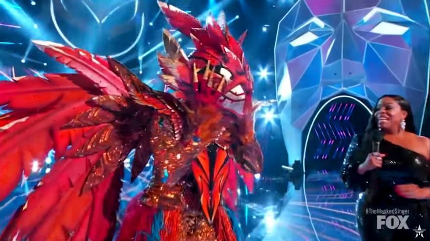 Phoenix, desenmascarándose en el 'Mask Singer' USA