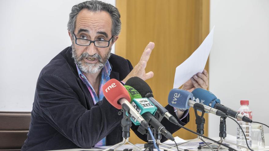 Salvador Blanco, consejero delegado de la empresa pública Sodercan.