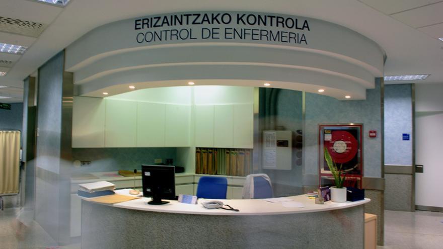 Control de enfermería del Hospìtal Universitario de Álava.