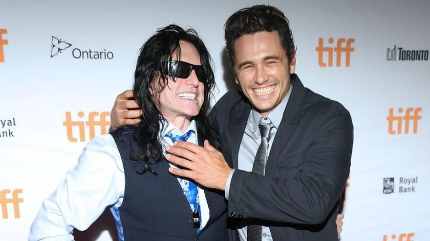 James Franco con el verdadero Tommy Wiseau