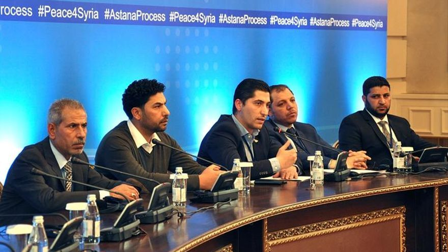 Se reanudan las negociaciones en Astaná sobre zonas de distensión en Siria