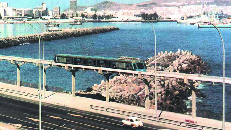 Tren vertebrado de Las Palmas de Gran Canaria