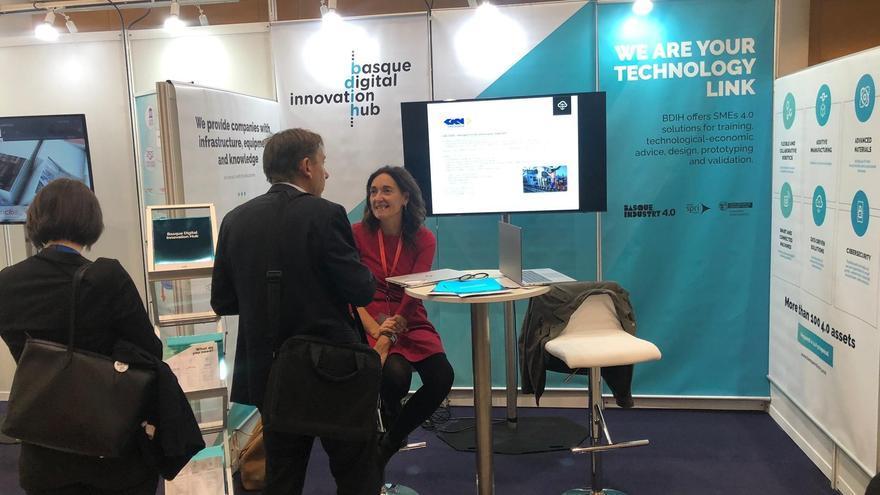 Stand del Basque Digital Innovation Hub (BDIH)