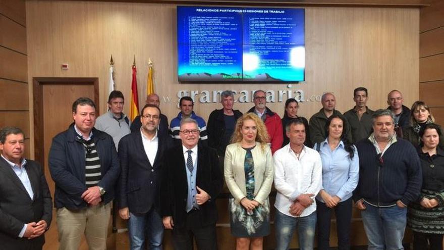 Presentación de las conclusiones de la Comisión Técnica de Palmerales. FOTO: Cabildo de Gran Canaria.