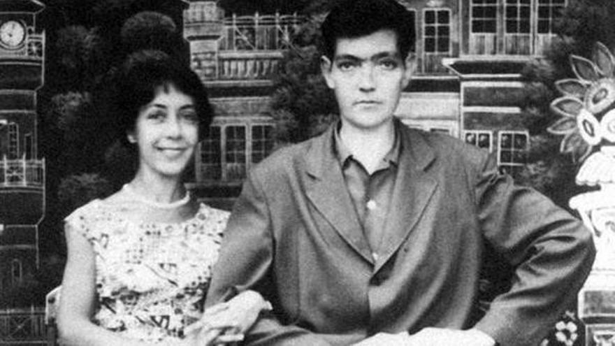 Aurora Bernardez y Julio Cortázar