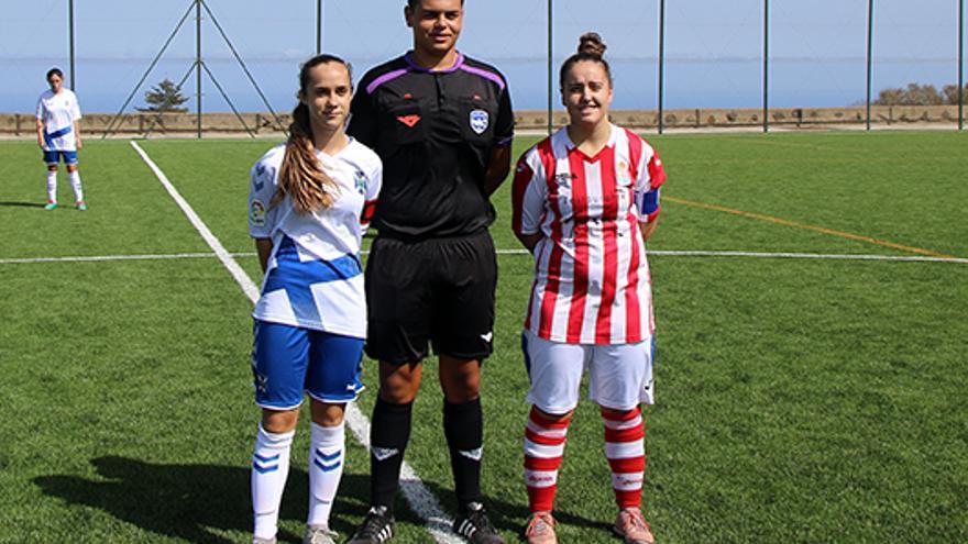 Bea Borrego es la capitana del CD Tenerife femenino de Primera.