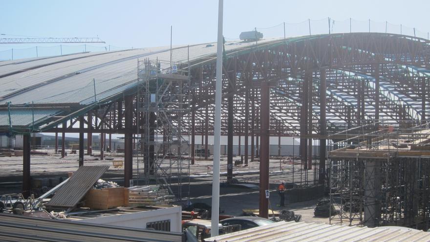 Nuevo edificio que unirá las terminales del aeropuerto Tenerife Sur