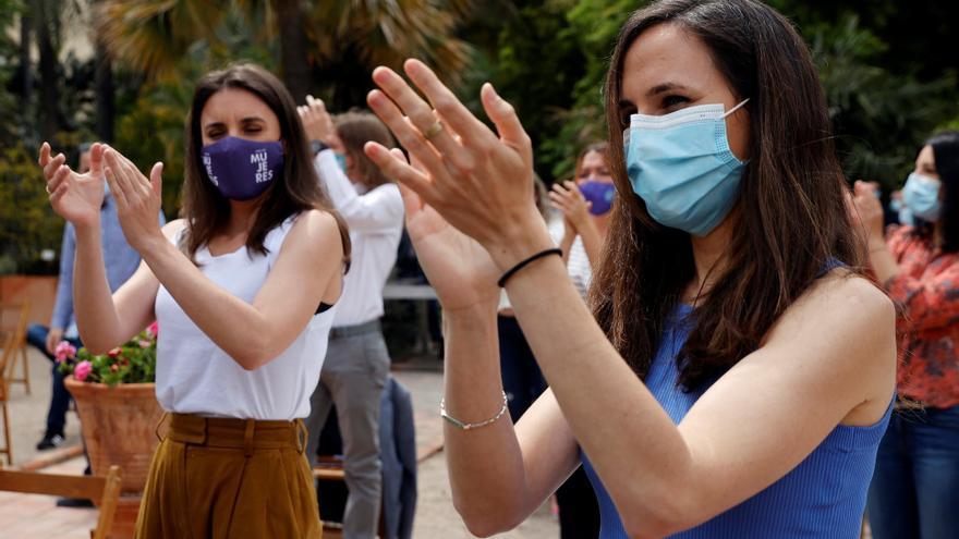 Seis mujeres encabezan la lista de Ione Belarra para dirigir Podemos